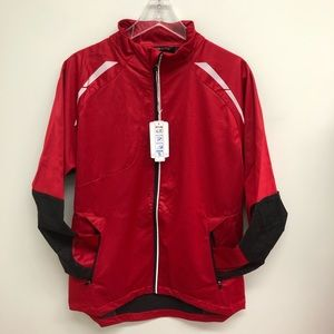 North End Sport | Men's Red Lightweight Jacket